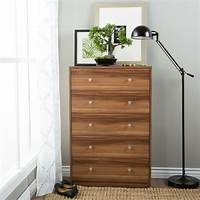 chest of drawers Portland Five-drawer Chestnut Chest Of Drawers | eBay