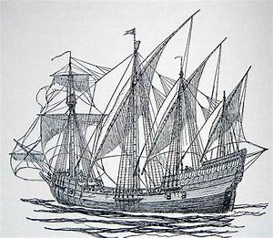 The Portuguese Developed The Caravel  Its A Small  Light  Three Masted Sailing Ship  The Caravel