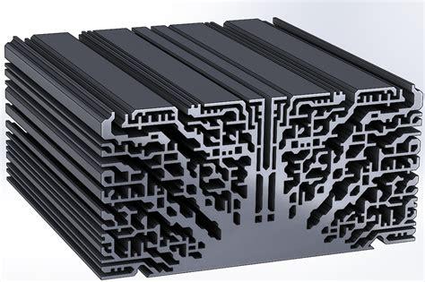 heat sink design organically grown 3d printable heatsinks part 1 a