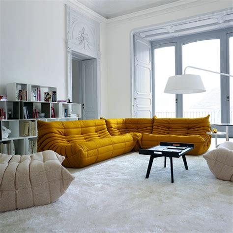 canap maison les beaux décors avec le canapé togo légendaire archzine fr