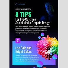 8 Tips For Eye Catching Social Media Graphic Design Infographic  Venngage Infographic Examples