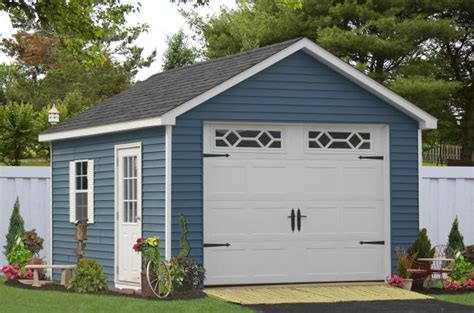 prefab garage kits one car prefab car garages 100 s of choices amish built
