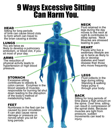 9 Ways That Excessive Sitting Can Harm You  Infographic. White Writing Desk. Diy L Desk. Aramp Help Desk. Whitesburg Dining Table. Star Trek Desk. Butler Writing Desk. Gloss Desk White. Cheap Table And Chair Rentals