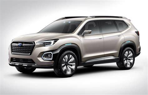 2019 Subaru Tribeca Mid-size 7-seat Suv Previewed By Viziv