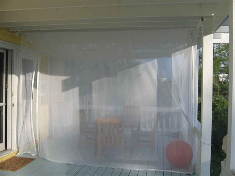 Curtains Using Beautiful Mosquito Netting Curtains For