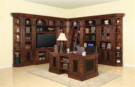 library wall units bookcase parker house leonardo library wall unit bookcase set 4 ph