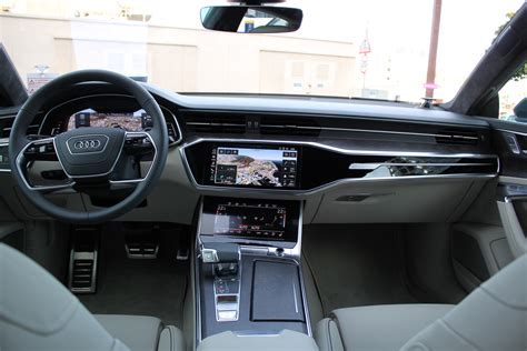audi a7 interior 2019 audi a7 review and drive fourtitude