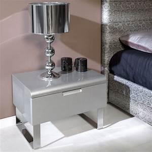 Table De Chevet Design : table de chevet collection contempo zendart design ~ Teatrodelosmanantiales.com Idées de Décoration