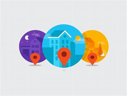 Loading Android Animation Location Market Dribbble Wholesaler