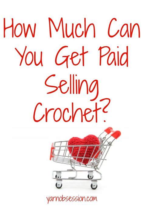 how much to sell a used for how much can you get paid selling crochet yarn