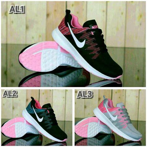 Sepatu Nike Airmax Pink Mix jual sepatu olahraga nike airmax wanita putih pink