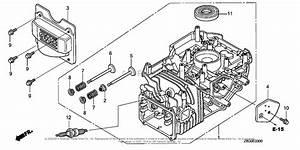 Honda Engines Gcv160le N7a1 Engine  Ita  Vin  Gjaae