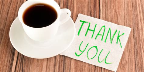 13 Homemade Thank-you Note Ideas Coffee Cups For Office Sets Sale Cuisinart Maker Maintenance Mugs Mr Price Home Makers.com Brewing Instructions Background Designs