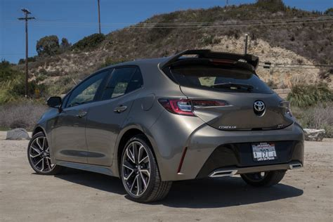 2019 Toyota Hatchback by 2019 Toyota Corolla Hatchback Pricing Fuel Economy