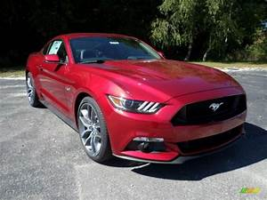 2016 Mustang GT Coupe - Ruby Red Metallic / Ebony photo #1 (With images) | Mustang gt, Ford ...