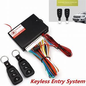 Universal Car Remote Central Kit Door Lock Locking Alarm