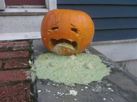 Pumpkin Puke Guacamole by Halloween Pumpkin Jack O Lantern Puking Be