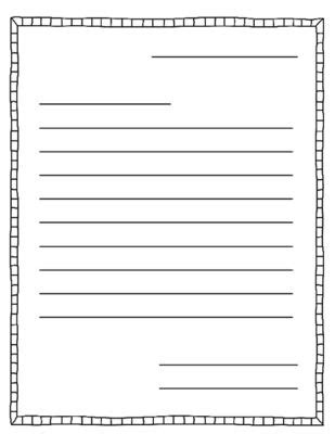 letter writing templates teacher  letter writing