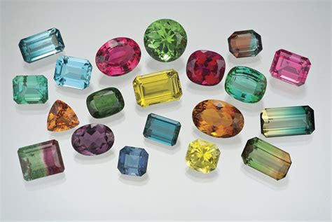 tourmaline color the october birthstones opal and tourmaline
