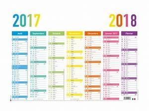 Vacances Aout 2018 : oberthur arc en ciel calendrier 2017 2018 visualisation de 7 mois 570 x 410 mm ~ Medecine-chirurgie-esthetiques.com Avis de Voitures