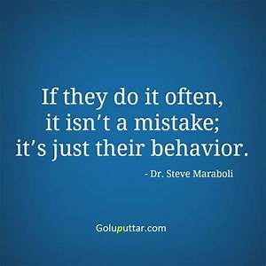 Mind Blowing Mistake Quote It's A Behavior Of Some Peoples ...