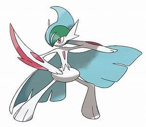 Free coloring pages of pokémon gallade