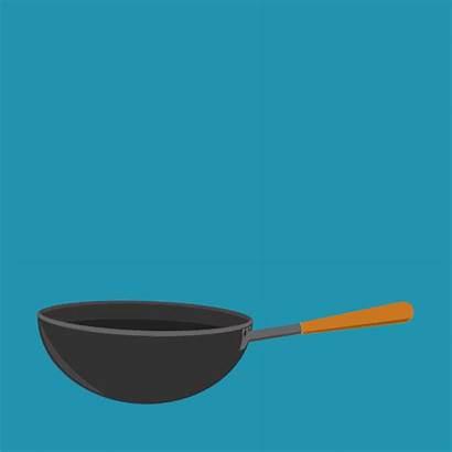 Wok Cooking Dinner Giphy Nutrition Kitchen Boardman