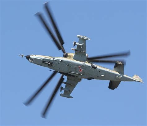 Helicopter Displays At The Maks Airshow