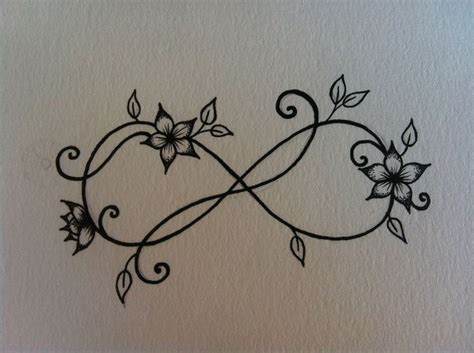 final design  infinity wrist tattoo tats