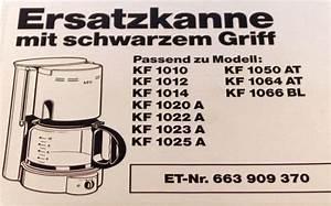 Glaskanne Für Kaffeemaschine : aeg glaskanne f r kaffeemaschine kf kaffeekanne 8996639093708 ~ Whattoseeinmadrid.com Haus und Dekorationen