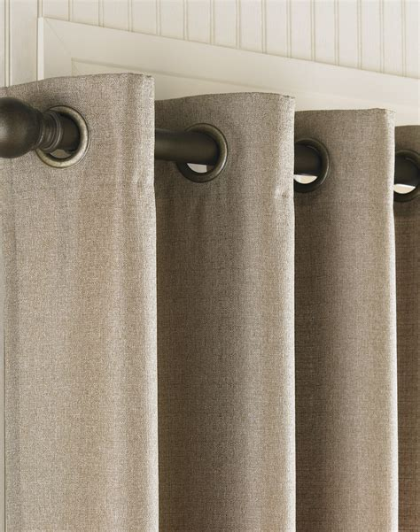 curtains with grommets monterey textured lined grommet drapery curtainworks