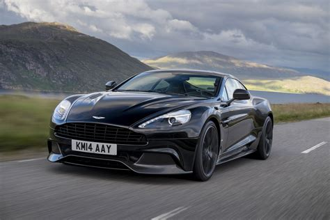 aston martin front 2015 aston martin vanquish front three quarter in motion