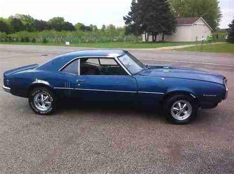 1968 Pontiac Firebird Parts by Sell Used 1968 Pontiac Firebird 350 3 Speed Runs