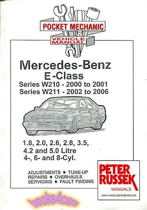 book repair manual 2011 mercedes benz e class windshield wipe control shop manual mercedes service repair book e class w210 w211 2000 2006 ebay