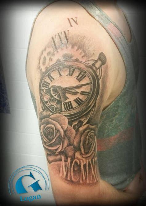 Tatouage Horloge Graphicaderme