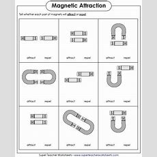 Magnetism Activities From Superteacherworksheetscom Which Magnets Will Attract And Which Ones