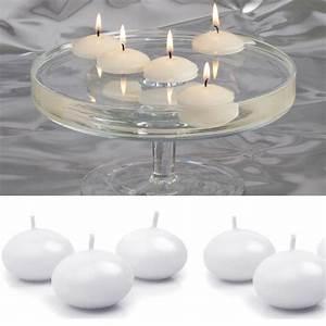 Bougies Parfumées Pas Cher : bougie flottante blanche decoration mariage pas cher badaboum ~ Teatrodelosmanantiales.com Idées de Décoration