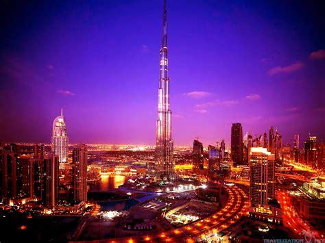 Burj Khalifa, Dubai At Night