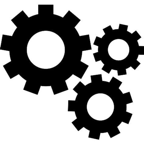 basic icon mechanical gears free other icons