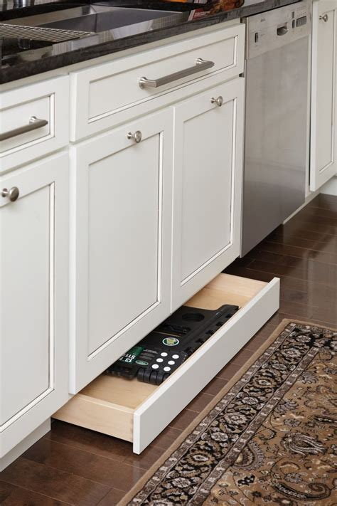 Radiator Cabinet With Drawers by Storage Drawers In The Toekick The Cabinets