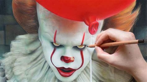 Drawing Pennywise The Clown