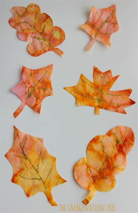 autumn leaves art activities  imagination tree