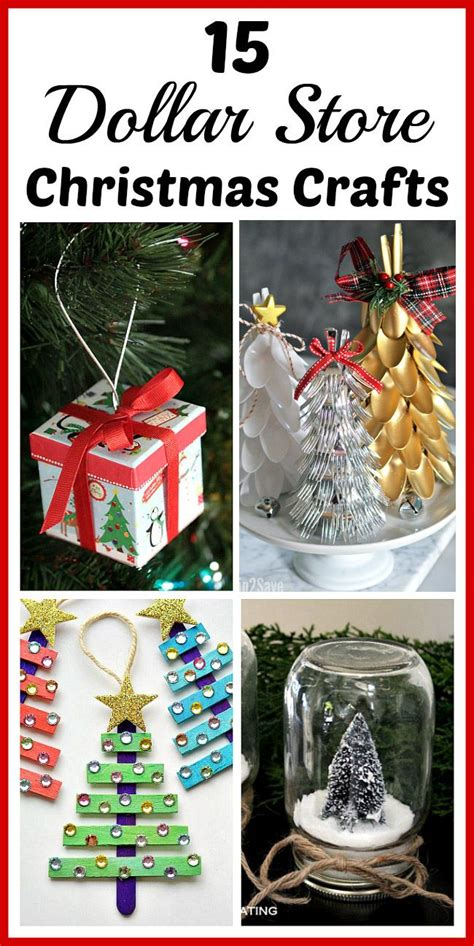 dollar store christmas crafts   decorate