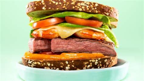 Fresh Veggie Tuna Salad Sandwich