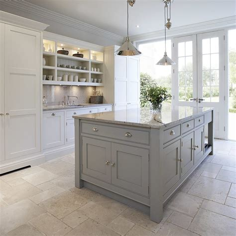 Shallow Base Cabinets Kitchen Contemporary with White