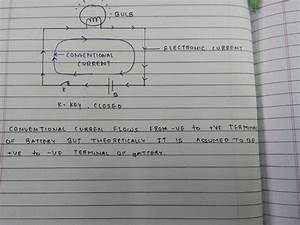 Draw Circuit Diagram Showing A Dry Cell Connected To A