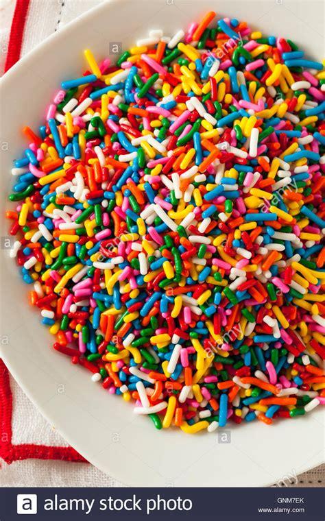 colored sprinkles rainbow sprinkles stock photos rainbow sprinkles stock