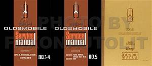 1964 Oldsmobile Repair Shop Manual Original 5 Volume Set