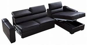 flip reversible leather sectional sofa bed with storage With flip reversible leather sectional sofa bed with storage