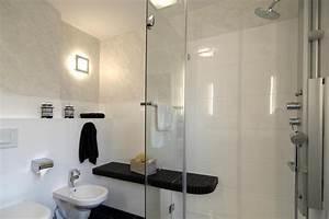 Bank Für Dusche : duschbad mit durchgezogener sitzbank schramm m nchen badrenovierung ~ Sanjose-hotels-ca.com Haus und Dekorationen